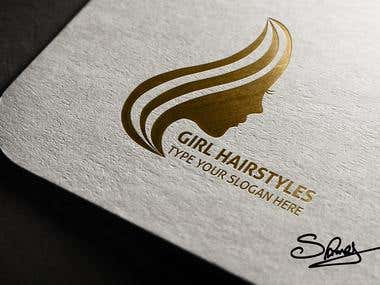 Girl Hair Styles Logo