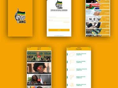 African National Congress - Mobile App Development