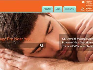 A marketplace for massage therapists