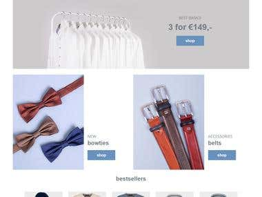Heinz Michaelis- E-Commerce Magento Website