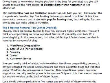 BlueHost vs HostGator - The Ultimate Face Off!