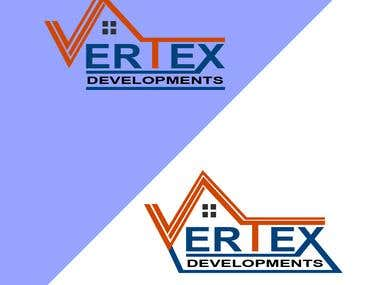 Vertex Logo Design