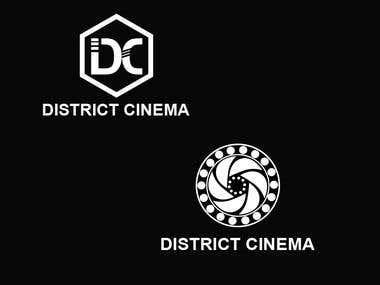 District Cinema Logo Design