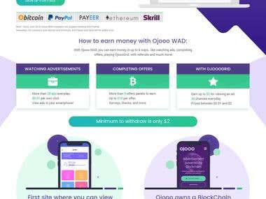 Ojooo WAD Landing Page