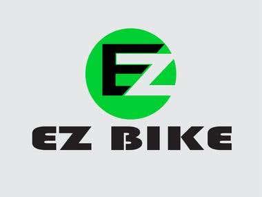 EZ Bike Logo Design