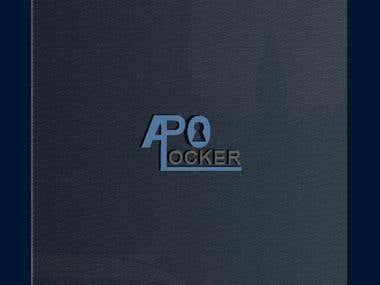 Apo Locker Logo Design