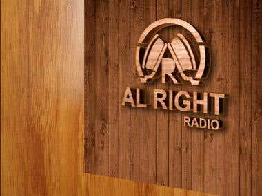 Alright Radio Logo Design