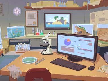scientist office