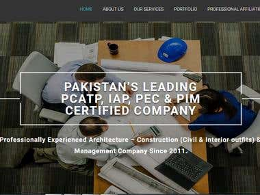 CMS Website of The Eminent Architects