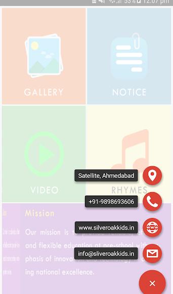 Silver Oak kids App