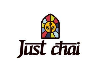 Design an inviting logo for a delicious cup of Chai