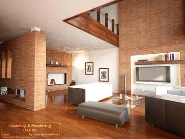 Interior Desing and Rendering