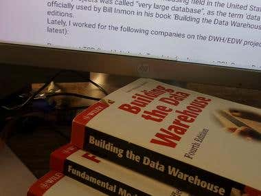Enterprise Data Warehouse Redevelopment and Restructuring