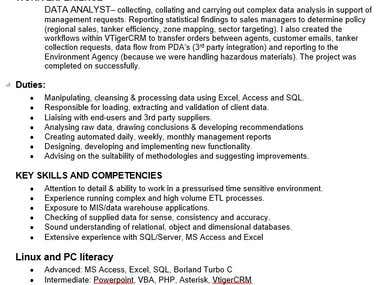 Software Developer Electronics Engineer