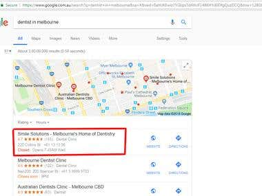 Google Map Reputation Management and Top Place in Google