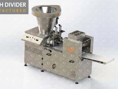 Dough Divider by weight Machine