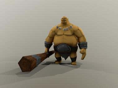 low poly characters