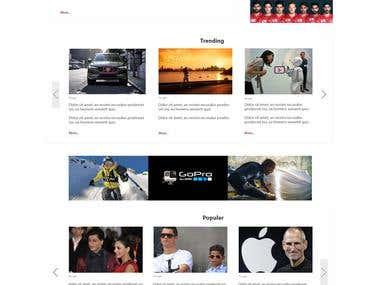 Life of Qatar_news template
