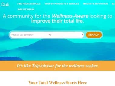 Total Wellness Club-Review Plugin
