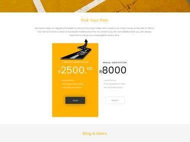 forex landing page