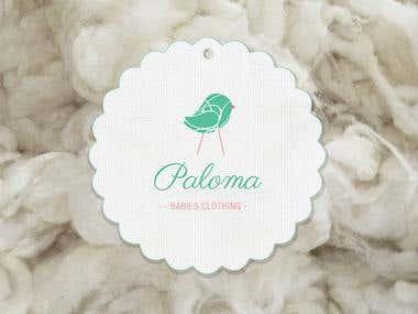 Newborn Baby Clothes logo design