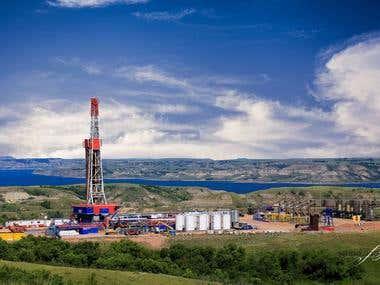 Bakken Shale Oilfield