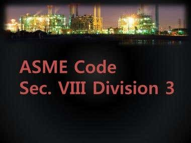 ASME Section VIII Div 3