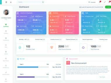Employee Dashboard Design