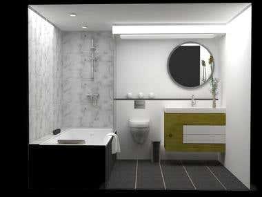 Bathrooms and laundries - Interior design