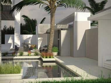 Front Garden - Saudi Arabia