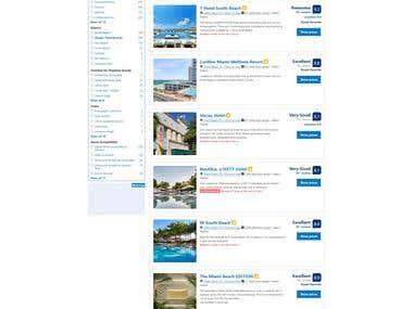 Booking.com Scrapy