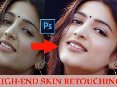 HI-END Skin Retouching