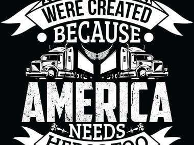 Truck Driver- T-shirt