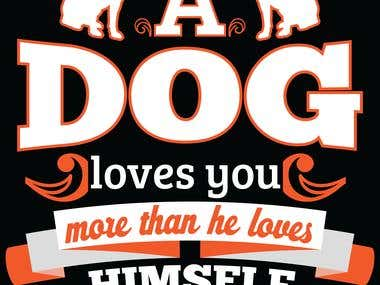 Dog Lover- T-shirt