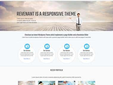 Wordpress Custom Theme Development From PSD