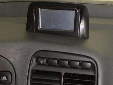 Multimedia system for the automobile.