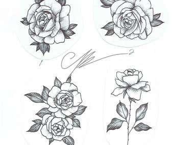 Floral Illustration - Hand Made
