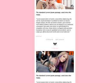 pinky theme for gossip