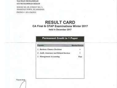 CA Final - Management Accounting