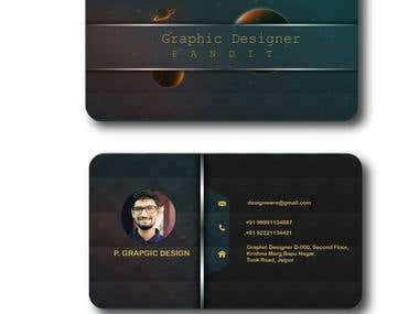 Professional Brand Business Card Design