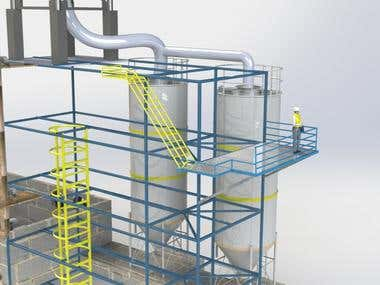 Pumping and Storage Factory Design