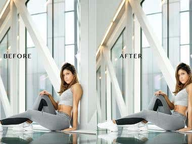 Photoshop Body sculpting