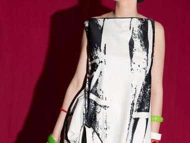 Cultural diversity inspired dress