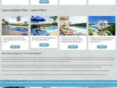 Villa Booking Website
