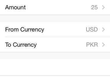 Currency converter latest