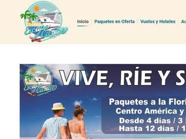 Web Escape al Caribe