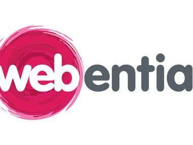 Webential Logo Design