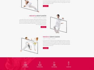 Karate Website