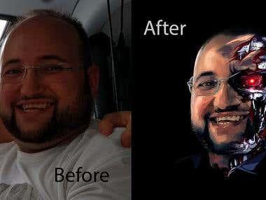 Photoshop Collage