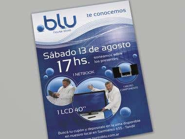 Punto Blu House Store - Branding e Identidad Corporativa